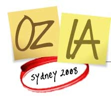 Oz-IA/2008, Sydney September 20th/21st